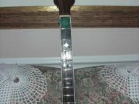 Tenor banjo handmade by Ivan Jany of Philadelphia.