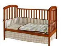 Jardine 2-in-1 baby bed for sale. New in box, never
