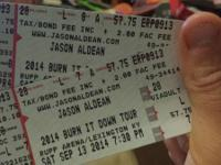 Selling 2 tickets to the Jason Aldean Concert at Rupp