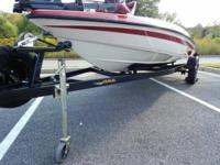 JAVELIN 16.5 BASS WATERCRAFT WITH JOHNSON OUTBOARD &