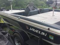 I am selling a 1989 model javelin bass watercraft. It