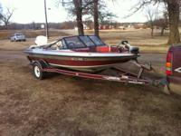 I have a 88 javelin fish n ski for sale. Has a 85 horse