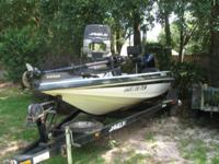 1999 Javelin (19ft) Renegade Bass Boat 175 hp