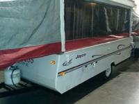 jayco eagle pop up model#12UDK sleeps 8' front king bed