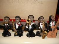 Kool R&B Or Rhythm & Blues Jazzmen Figurines !