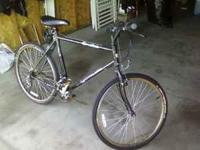 Great condition mountain bike, new tires and tubes and