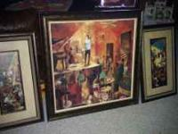 3 Jazz pictures. Very nice quality. Large one measures