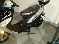 Jazzie 50cc Scooter. Perfect Condition. Sliver. Please