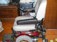 I have a Jazzy 600 Mobility Heavy Duty Mobility scooter