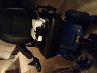 We have a blue Jazzy Select 6 power chair for sale.