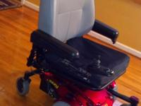 Very good condition Jazzy Select wheel chair. Purchased