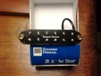 "High output single-coil-size ""rails"" humbucker. Great"