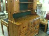 Here is an immaculate hutch by JB Van Sciver Co. It is