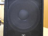 Up For Sale Pair Brand New In Box JBL JRX 218S 18""