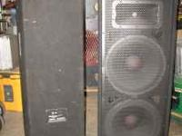 "JBL Sound Factor Dual 15"" Sound Re-enforcement Speakers"