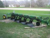 I have for sale a John Deere 2800 5 bottom plow. It has