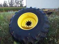 60% Goodyear tires on John Deere small bolt pattern