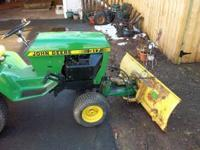 I HAVE A JOHN DEERE 314 ----317---318 ALL RUN AND NEED