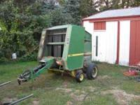 JD 330 baler works great. $3250.00 Ph.  Location: