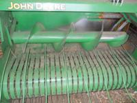 Up for sale is 348 jd square baler with accumulator and