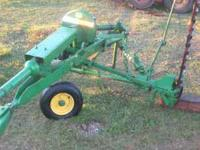 JOHN DEERE 38 sickel mower great shape and works good