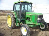 JD 6300 2wd. cab tractor 12.4x46 rear call charlie