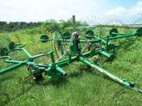 for sale john deere 702 10 wheel rake in good condition