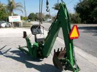 "JD MODEL 10A BACKHOE SN# M0010AX170159 22"" BUCKET THIS"