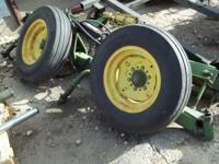 JD lift assist came off a planter,wheels and rams, $400