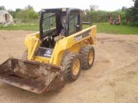 Have two nice jd skidloaders for sale, a 325 and a 317,