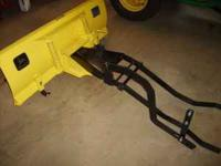 John Deere 42in blade ,nice condition,spring trip