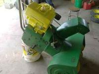 I'm selling my J deere snowthrower.....8 horse...runs