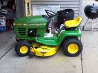 JOHN DEERE STX 38 FOR SALE...COULD BE USED FOR PARTS OR