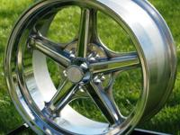 This is for ONE (1) new Thrashstar Polished wheel for