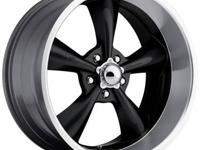 This is ONE new Showwheels STREETER (1) 17 x 8 BLACK