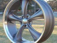 This is for ONE (1) new Boss 338 GRAY 20x8.5 wheel -
