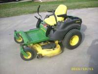 "JD Z425 zero turn riding lawn mower, 23hp B&S, 48"" deck"
