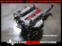 JDM 98 00 Mazda BP BP5A Engine Motor Manual 6 Spd Tran