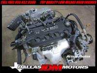 JDM 98-01 Honda Accord 2.3L F23A VTEC Engine SOHC Motor