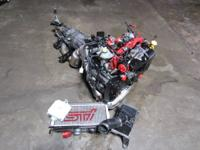 JDM Subaru STi Version 8 EJ207 Engine and 6 Speed