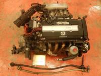 JDM HONDA CIVIC SIR B16A 1.6L DOHC VTEC ENGINE OBD-1