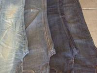 Jeans size 4 for woman. great condition. brand names
