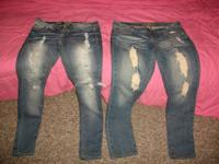 Ripped jeans: YMI Skinny size 11 Ripped jeans: Primiere