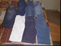 I'm selling 7 jeans size 10 and 12 for girls they are
