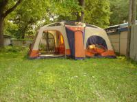 Jeep 3 room tent is used..but hardly ever used..It is