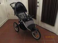 Jeep all terrain 3 wheel stroller - Navy Blue and Gray