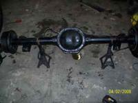 I have a 8.25 Rear axle out of a 1993 Jeep Cherokee, It