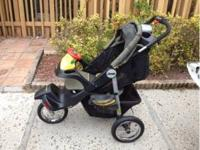jeep all terrain stroller in decent condition, it does