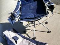 Jeep folding camp chair. This is a deluxe camp chair