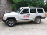2000 right hand drive Jeep Cherokee for sale. It has